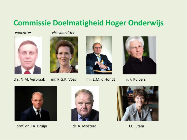 Commissie Doelmatigheid Hoger Onderwijs