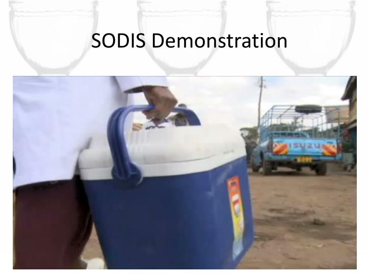 SODIS Demonstration