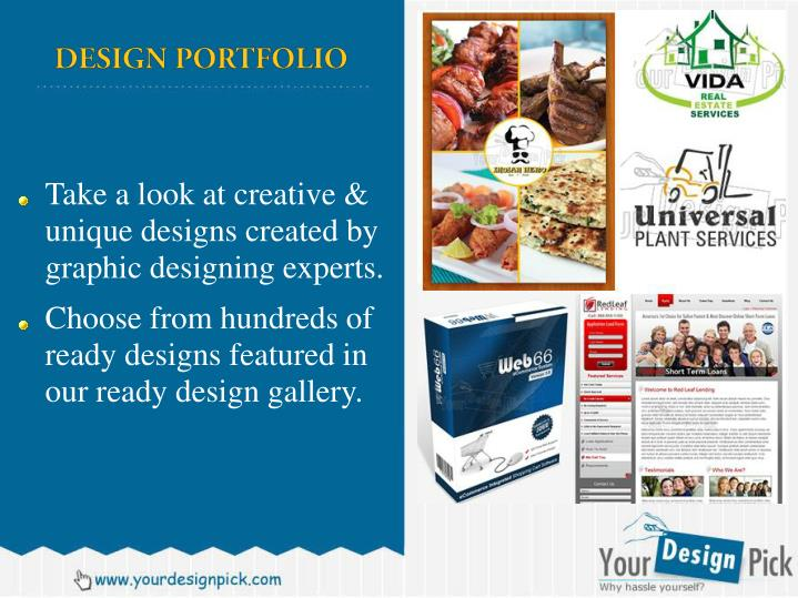 Take a look at creative & unique designs created by graphic designing experts.