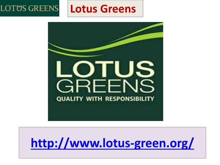 Http www lotus green org