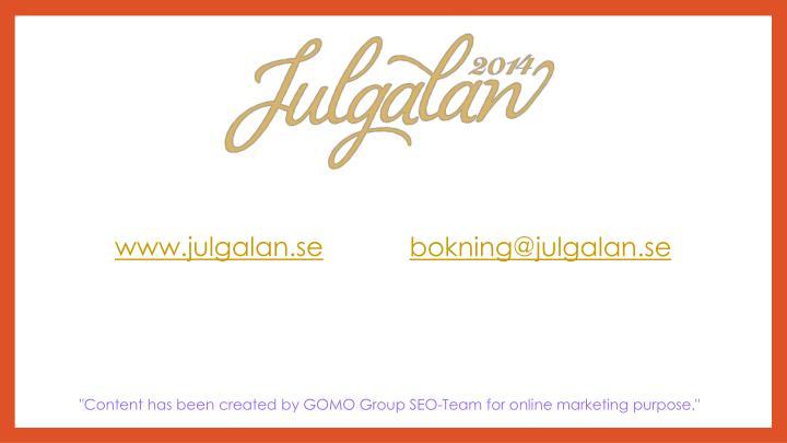 www.julgalan.se
