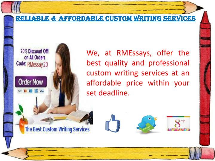 Custome writting service