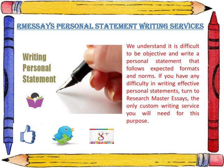 best personal statement writing services