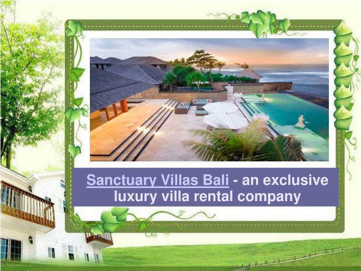 Sanctuary Villas Bali