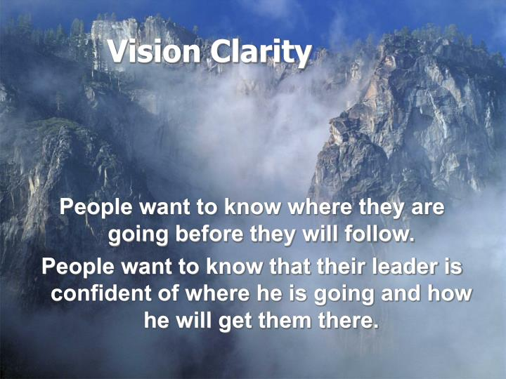 Vision Clarity