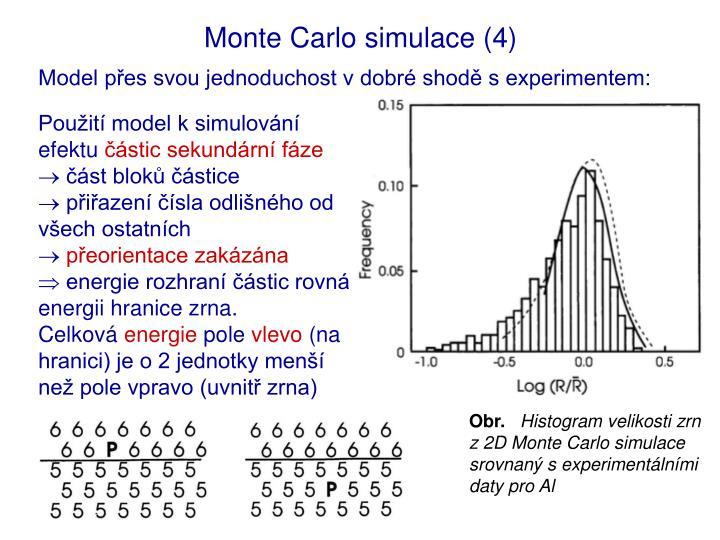 Monte Carlo simulace (4)