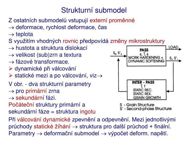 Strukturní submodel