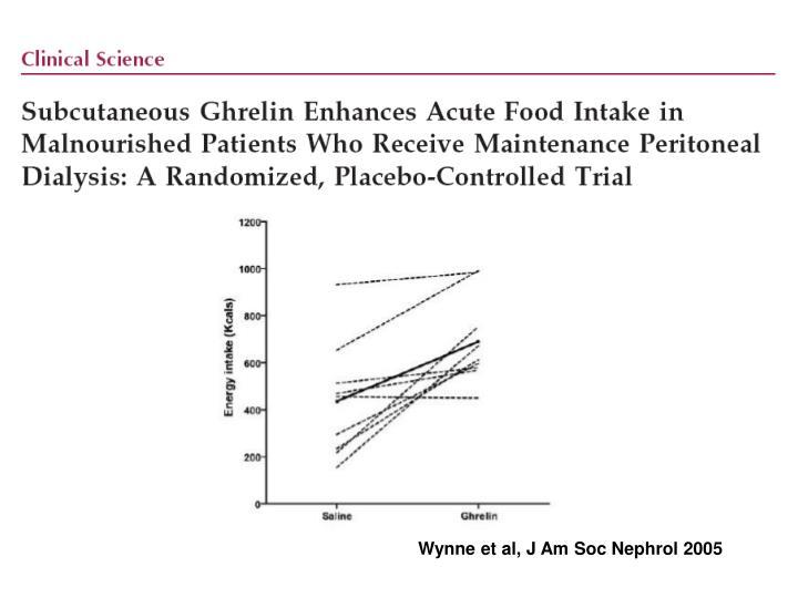 Wynne et al, J Am Soc Nephrol 2005