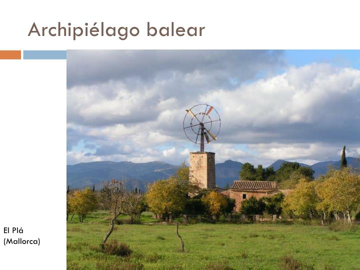 Archipiélago balear