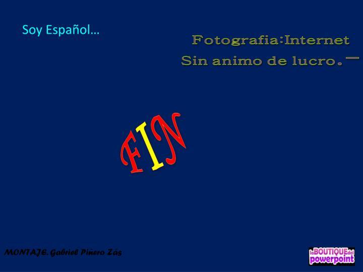Soy Español…