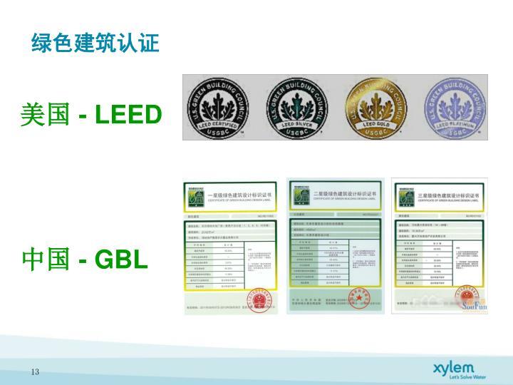 绿色建筑认证