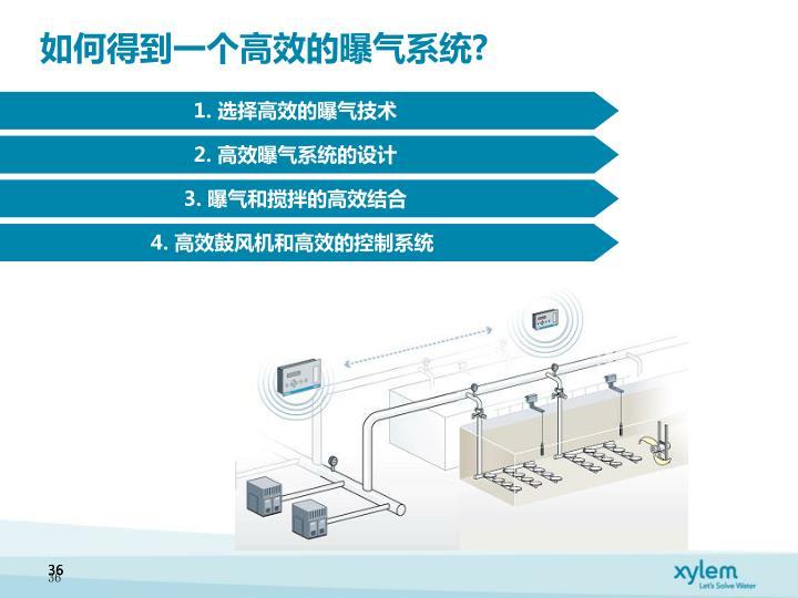 如何得到一个高效的曝气系统