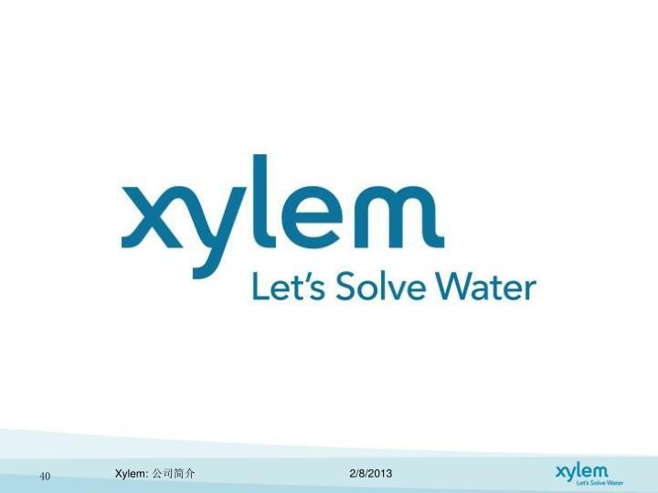 Xylem:
