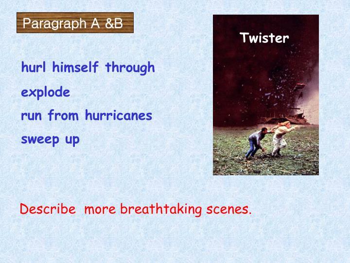 Paragraph A &B