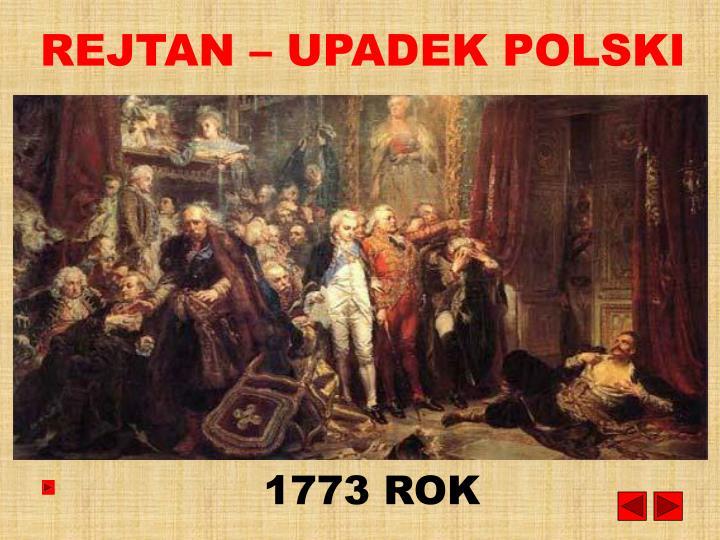 REJTAN – UPADEK POLSKI