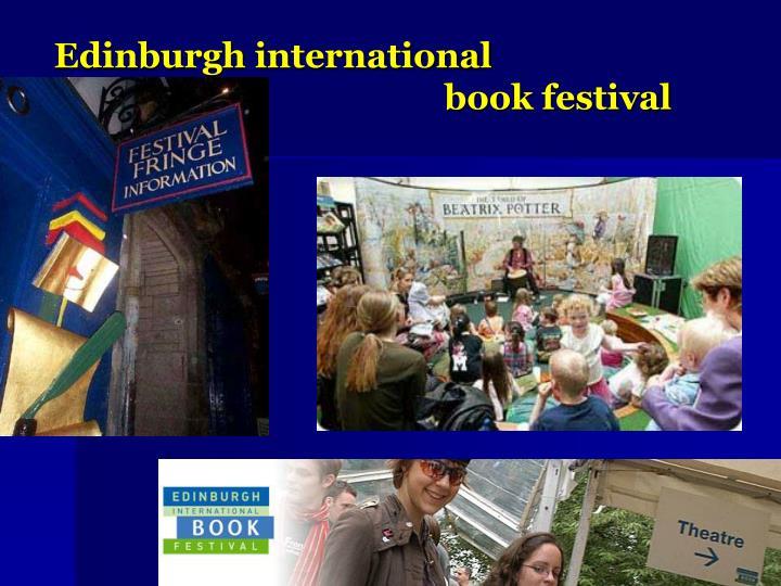 Edinburgh international