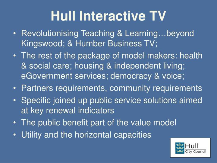 Hull Interactive TV