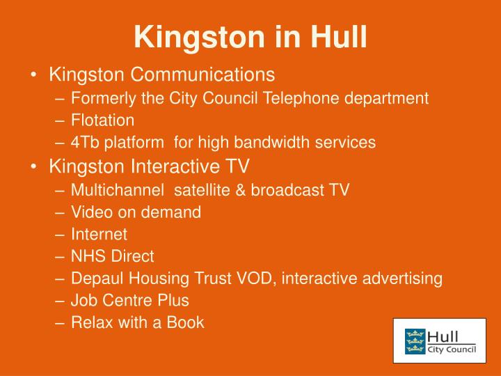 Kingston in hull