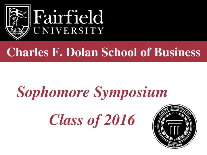 Charles f dolan school of business