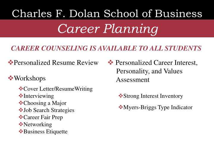 Charles F. Dolan School of Business