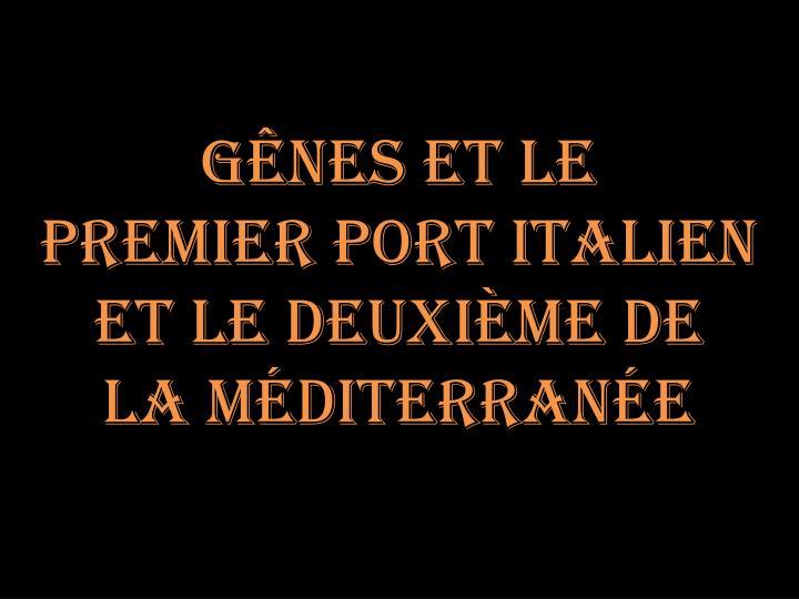 Gênes et le