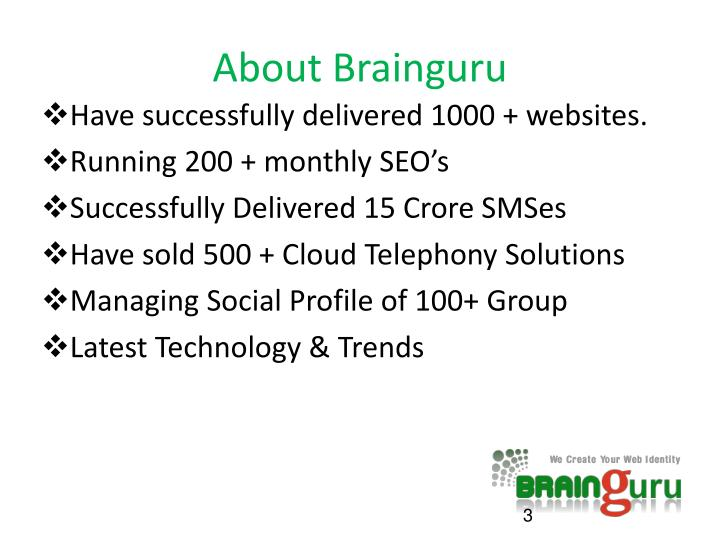 About Brainguru