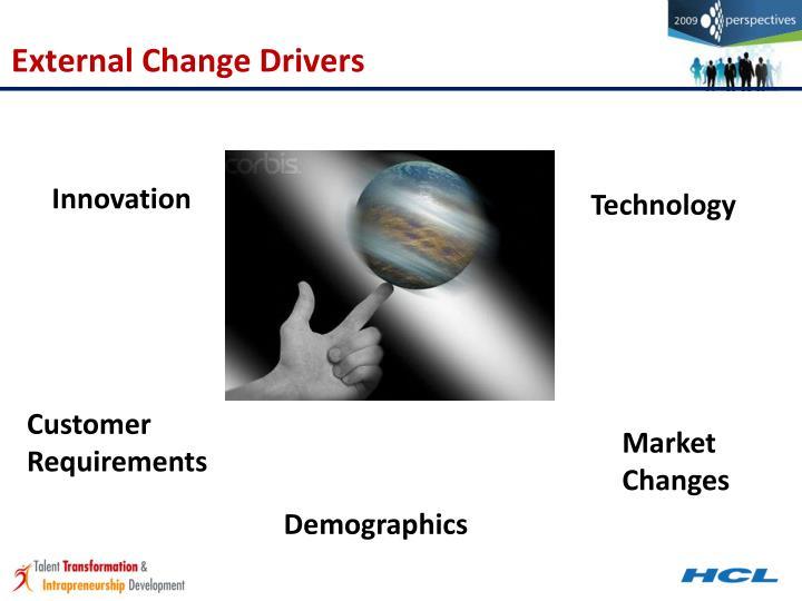 External Change Drivers