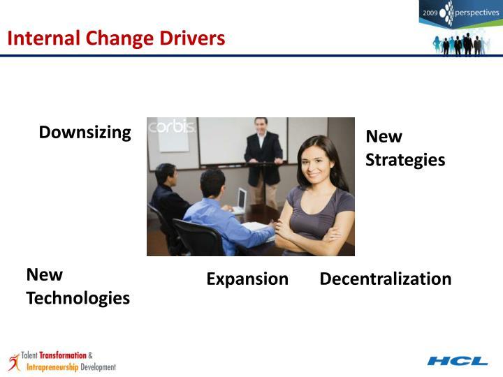Internal Change Drivers