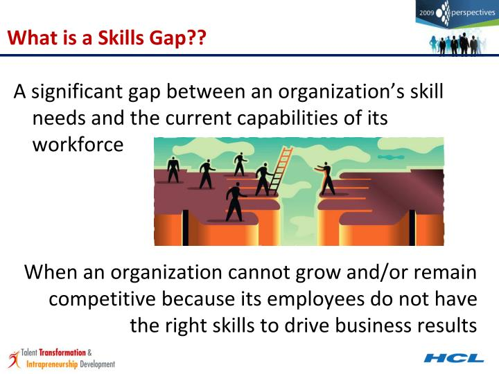 What is a Skills Gap??