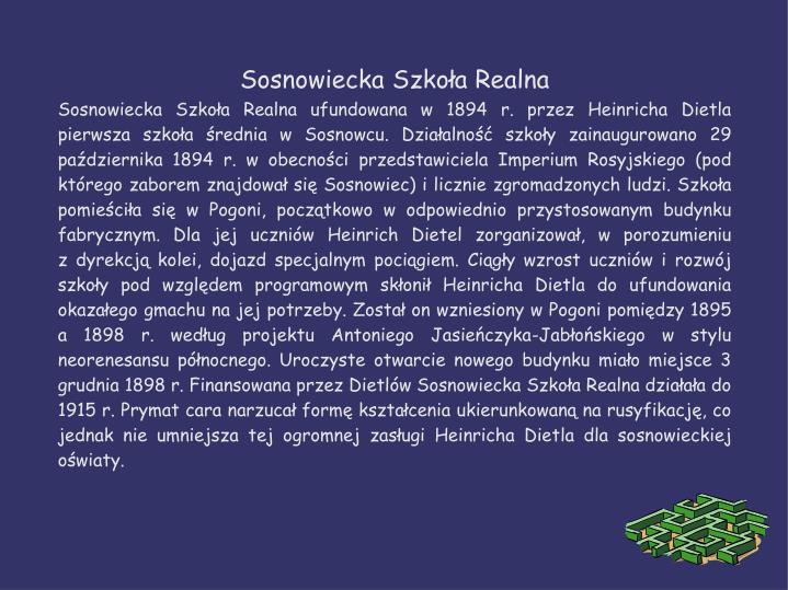Sosnowiecka Szkoła Realna