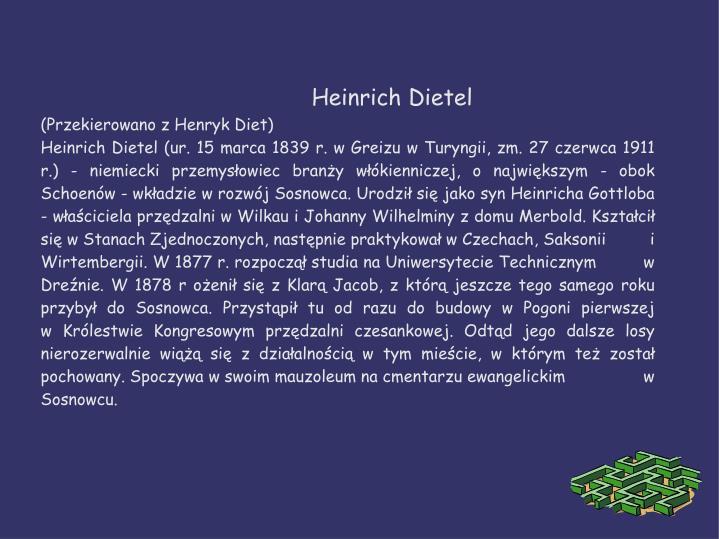 Heinrich Dietel