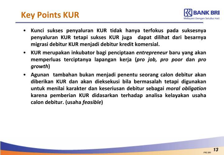 Key Points KUR