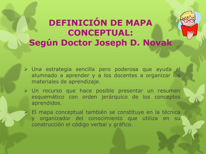 DEFINICIÓN DE MAPA CONCEPTUAL:
