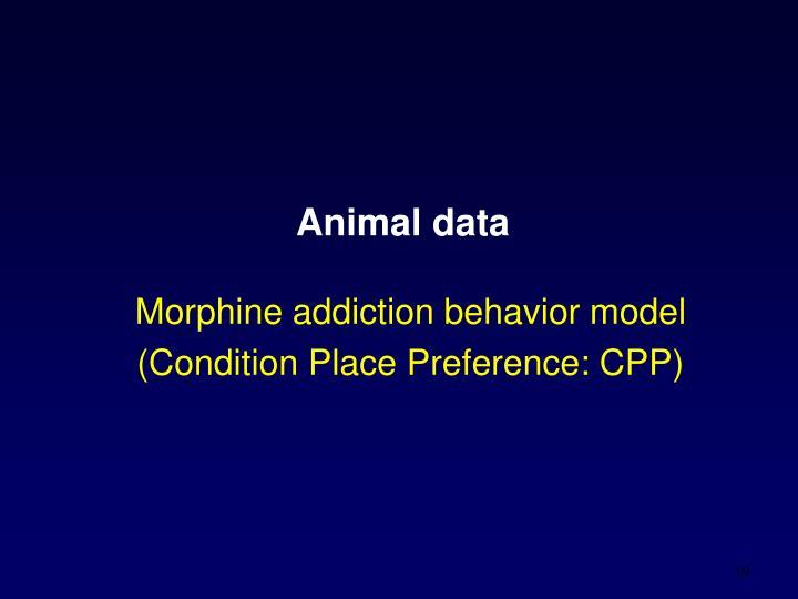 Animal data