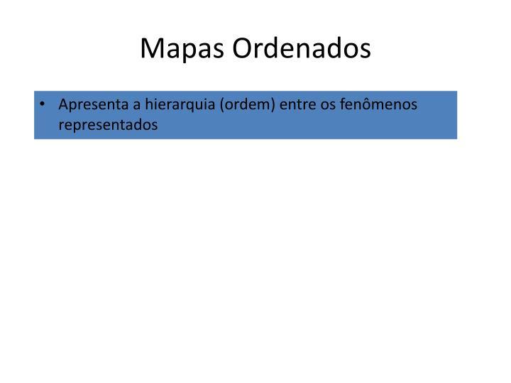 Mapas Ordenados