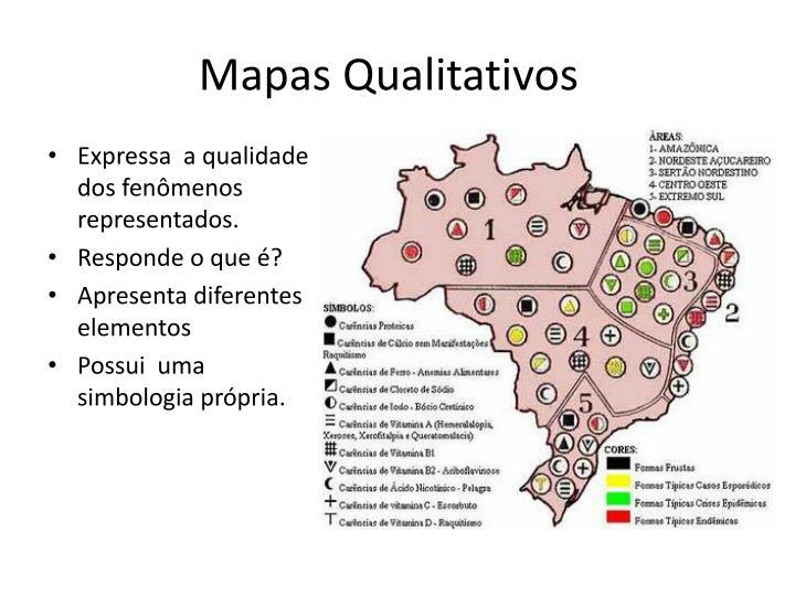 Mapas Qualitativos