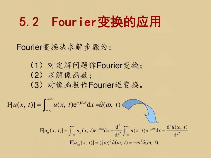 5.2  Fourier