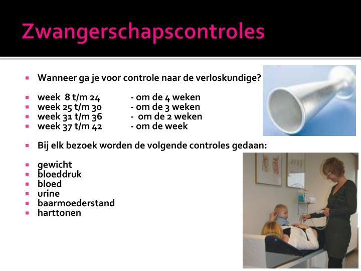 Zwangerschapscontroles