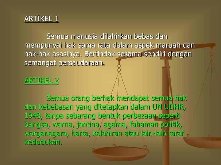 ARTIKEL 1