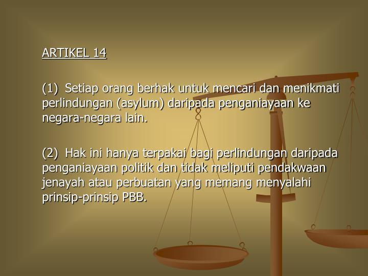 ARTIKEL 14