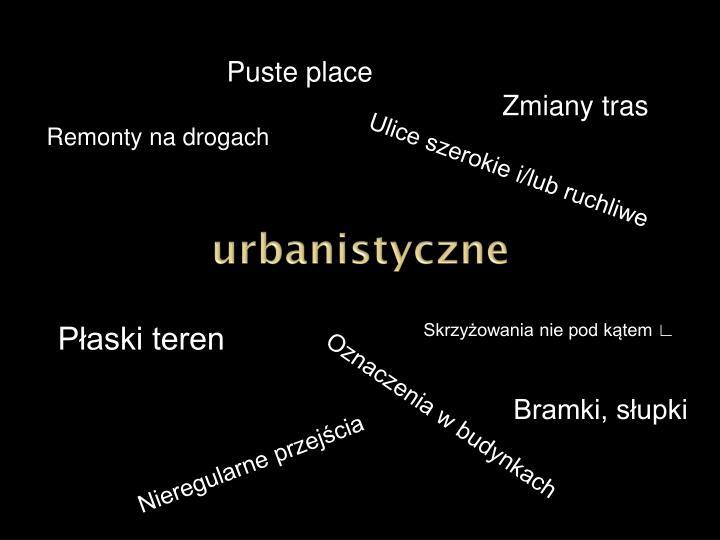 urbanistyczne