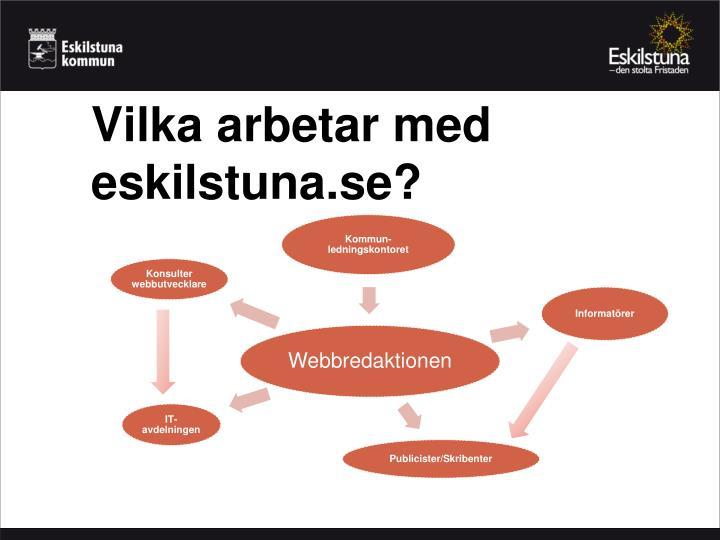 Vilka arbetar med eskilstuna.se?