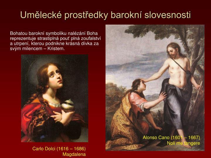 Umělecké prostředky barokní slovesnosti