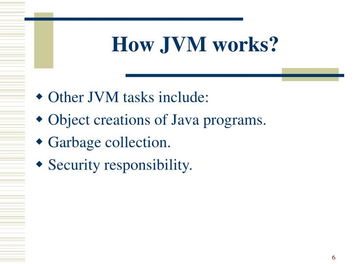 How JVM works?