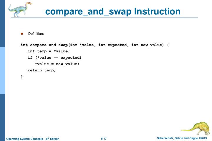 compare_and_swap Instruction