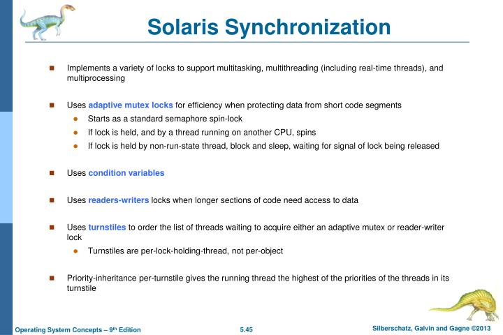 Solaris Synchronization