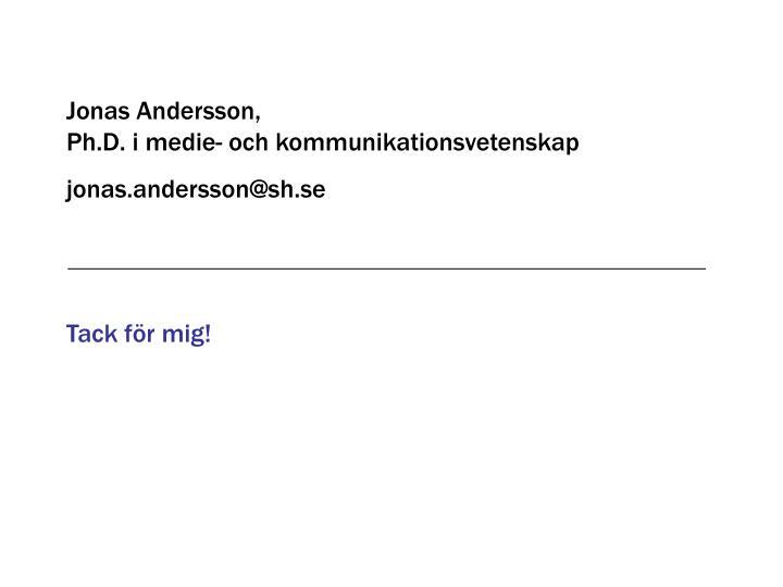 Jonas Andersson,