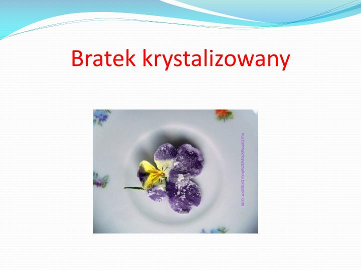 Bratek krystalizowany