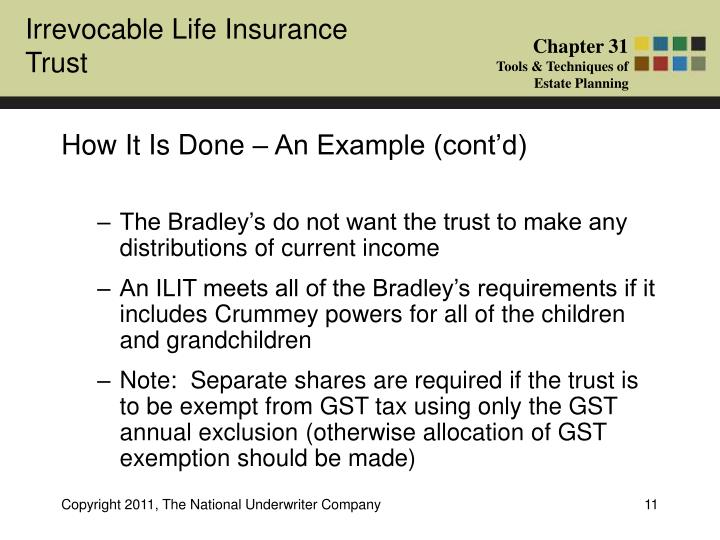 Crummey power in estate gift and trust taxation essay