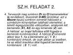 sz h feladat 2